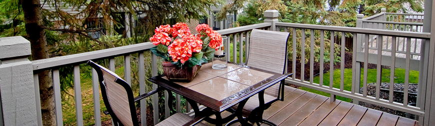 Renting - Townhouse Patio image